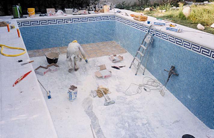Material de agarre - Losas para piscinas ...