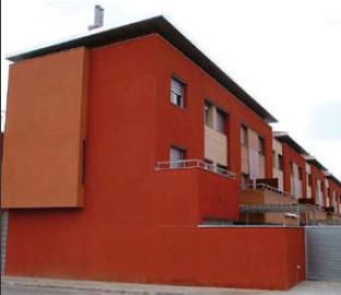 Acabado fachada con mortero monocapa