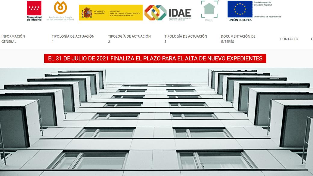 Programa PREE en la Comunidad de Madrid